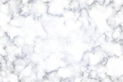 Άσπρη και γκρίζα μαρμάρινη σύσταση Στοκ Φωτογραφίες