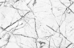 Άσπρη και γκρίζα μαρμάρινη σύσταση Στοκ Εικόνα