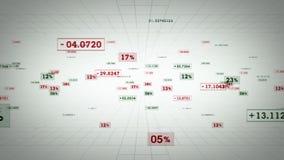Άσπρη καταδίωξη ποσοστών και τιμών ελεύθερη απεικόνιση δικαιώματος
