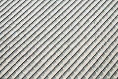 Άσπρη κεραμική στέγη Στοκ Φωτογραφίες