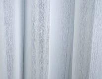 Άσπρη κουρτίνα Στοκ φωτογραφίες με δικαίωμα ελεύθερης χρήσης