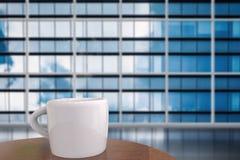 Άσπρη κούπα του καφέ Στοκ Φωτογραφίες