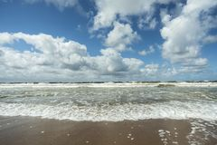 Άσπρη κυματωγή θάλασσας Στοκ φωτογραφία με δικαίωμα ελεύθερης χρήσης