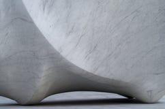 Άσπρη μαρμάρινη λεπτομέρεια Στοκ Εικόνα