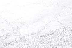 Άσπρη μαρμάρινη σύσταση για την εργασία τέχνης υποβάθρου ή σχεδίου Στοκ Εικόνα