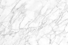 Άσπρη μαρμάρινη σύσταση για το υπόβαθρο και το σχέδιο Στοκ εικόνα με δικαίωμα ελεύθερης χρήσης