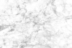 Άσπρη μαρμάρινη σύσταση με τις λεπτές γκρίζες φλέβες Στοκ φωτογραφία με δικαίωμα ελεύθερης χρήσης