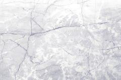 Άσπρη μαρμάρινη σύσταση με το φυσικό σχέδιο Στοκ φωτογραφία με δικαίωμα ελεύθερης χρήσης