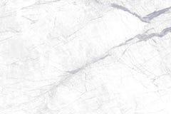 Άσπρη μαρμάρινη σύσταση με το φυσικό σχέδιο Στοκ εικόνες με δικαίωμα ελεύθερης χρήσης