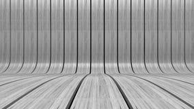 Άσπρη ξύλινη ανασκόπηση Στοκ Φωτογραφίες