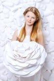 Άσπρη ομορφιά Στοκ Φωτογραφία