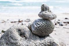 Άσπρη πέτρα Στοκ φωτογραφία με δικαίωμα ελεύθερης χρήσης