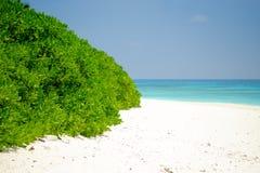 Άσπρη παραλία άμμου, Koh Chang, Phang Nga στοκ φωτογραφία