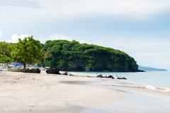 Άσπρη παραλία Perasi άμμου του Μπαλί στο Μπαλί, Ινδονησία Στοκ Εικόνα