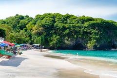 Άσπρη παραλία Perasi άμμου του Μπαλί στο Μπαλί, Ινδονησία Στοκ φωτογραφία με δικαίωμα ελεύθερης χρήσης