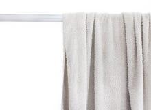 Άσπρη πετσέτα Στοκ φωτογραφία με δικαίωμα ελεύθερης χρήσης