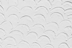 Άσπρη πρόσοψη με τη δομή Στοκ εικόνες με δικαίωμα ελεύθερης χρήσης