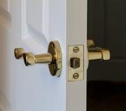 Άσπρη πόρτα Στοκ Εικόνα
