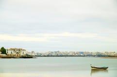 Άσπρη πόλη Στοκ φωτογραφία με δικαίωμα ελεύθερης χρήσης
