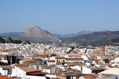 Άσπρη πόλη, Antequera, Ισπανία. Στοκ εικόνα με δικαίωμα ελεύθερης χρήσης