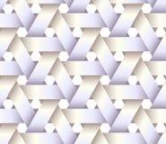 Άσπρη πλαστική καλαθοπλεκτική Στοκ Εικόνες