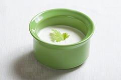 Άσπρη σάλτσα Στοκ Εικόνα