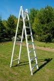 Άσπρη σκάλα Στοκ Φωτογραφία