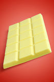 Άσπρη σοκολάτα Στοκ φωτογραφία με δικαίωμα ελεύθερης χρήσης