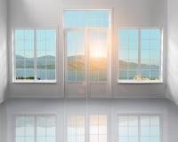 Άσπρη σοφίτα Στοκ εικόνες με δικαίωμα ελεύθερης χρήσης