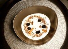 Άσπρη σούπα Στοκ εικόνες με δικαίωμα ελεύθερης χρήσης