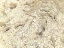 Άσπρη σύσταση άμμου Στοκ Φωτογραφίες