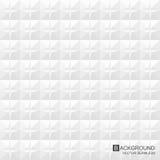 άσπρη σύσταση Γεωμετρικό σχέδιο - άνευ ραφής Στοκ Εικόνα
