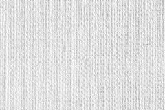 Άσπρη σύσταση καμβά Στοκ φωτογραφία με δικαίωμα ελεύθερης χρήσης