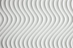 Άσπρη σύσταση καμπυλών με τη σκιά και τη σκιά Στοκ Φωτογραφία