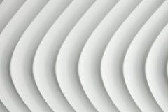 Άσπρη σύσταση καμπυλών με τη σκιά και τη σκιά Στοκ Εικόνα