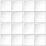 Άσπρη σύσταση κεραμιδιών Στοκ Φωτογραφία