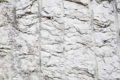 Άσπρη σύσταση πετρών Στοκ Φωτογραφίες