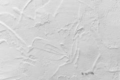 Άσπρη σύσταση συμπαγών τοίχων λευκό τοίχων σύστασης κ&omicron Στοκ φωτογραφία με δικαίωμα ελεύθερης χρήσης