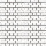 Άσπρη σύσταση τοίχων άνευ ραφής Στοκ φωτογραφία με δικαίωμα ελεύθερης χρήσης