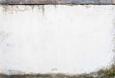 Άσπρη σύσταση τοίχων grunge Στοκ φωτογραφία με δικαίωμα ελεύθερης χρήσης