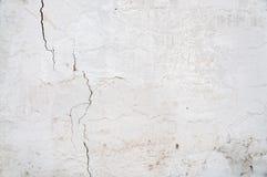 Άσπρη σύσταση τοίχων grunge Στοκ φωτογραφίες με δικαίωμα ελεύθερης χρήσης