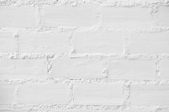 Άσπρη σύσταση τουβλότοιχος Στοκ φωτογραφία με δικαίωμα ελεύθερης χρήσης