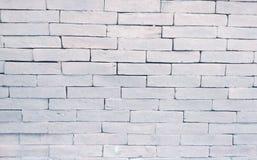Άσπρη σύσταση τούβλου Στοκ εικόνα με δικαίωμα ελεύθερης χρήσης