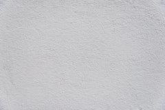 Άσπρη σύσταση υποβάθρου τοίχων ασβεστοκονιάματος Στοκ Εικόνα