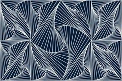 Άσπρη τρισδιάστατη γραμμή στο μπλε σκοτεινό υπόβαθρο στοκ εικόνες