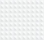 Άσπρη τρισδιάστατη άνευ ραφής σύσταση υποβάθρου διανυσματική απεικόνιση