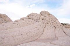 Άσπρη τσέπη στο οροπέδιο Paria στοκ εικόνες