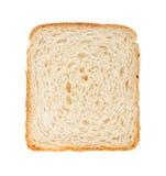 Άσπρη φέτα ψωμιού Στοκ Εικόνες