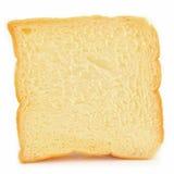 Άσπρη φέτα ψωμιού Στοκ Φωτογραφία