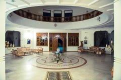 Άσπρη ωοειδής αίθουσα Στοκ φωτογραφία με δικαίωμα ελεύθερης χρήσης